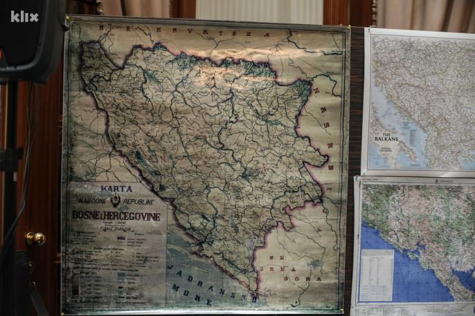 Zastita BIH granica prema AVNOJ-u . Rezultati glasanja Parlamenta BIH