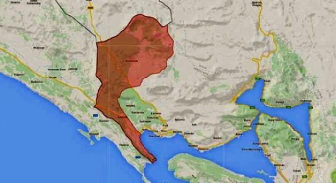 Bosni i Hercegovini okupirano sedam km obale